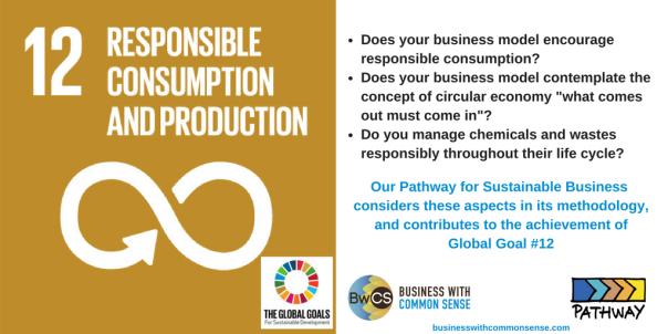 Goal 12 Responsible Consumption